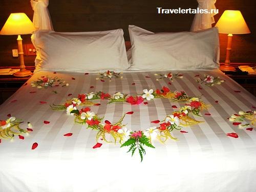 свадебное путешествие на Бора-Бора