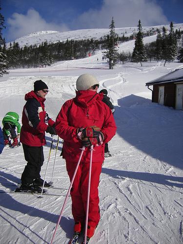 Горнолыжный-курорт-Швеции