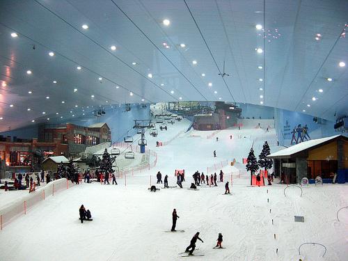 Горнолыжный комплекс Ski Dubai - незабываемый отдых в Дубаи
