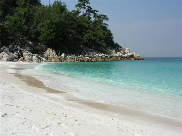 Vacation on the island of Thassos