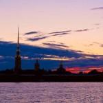 Санкт-Петербург, Петропавловская крепость, белые ночи. Фото: К.Смирнов.