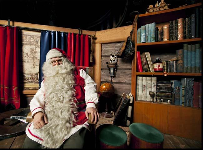 Офис Санта Клауса в Финляндии.
