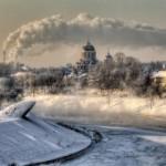 Зимнее преображение старого доброго Вильнюса