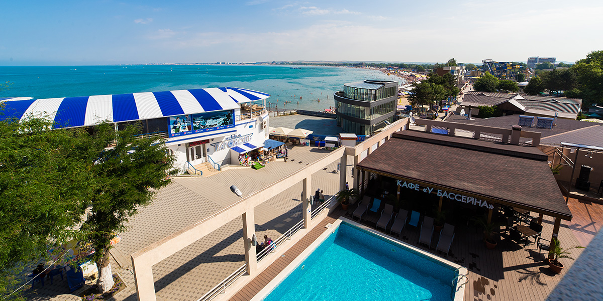 Accommodation at the Park-hotel in Anapa