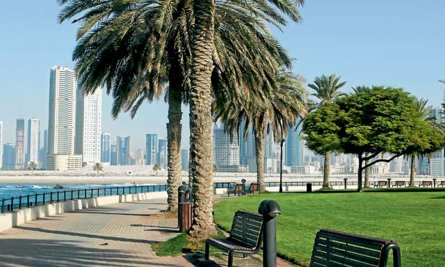 Парк Аль-мамзар в Дубае